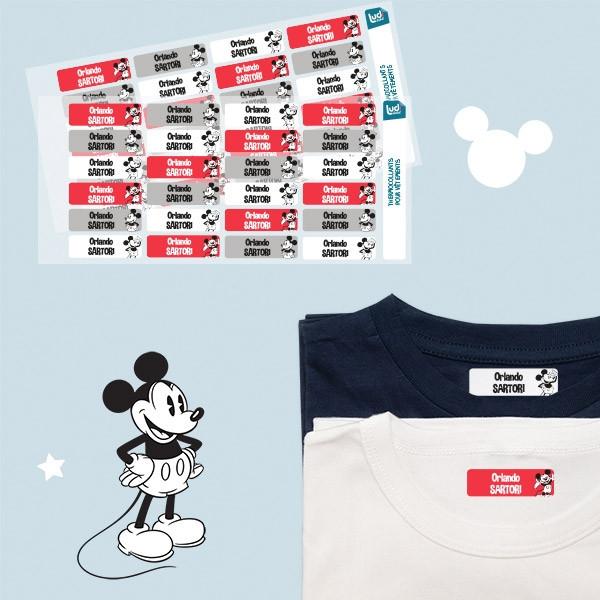 Pacchetto etichette personalizzate per i vestiti