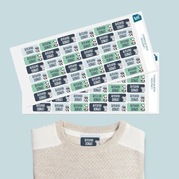 Ludisticks: adesivi per vestiti