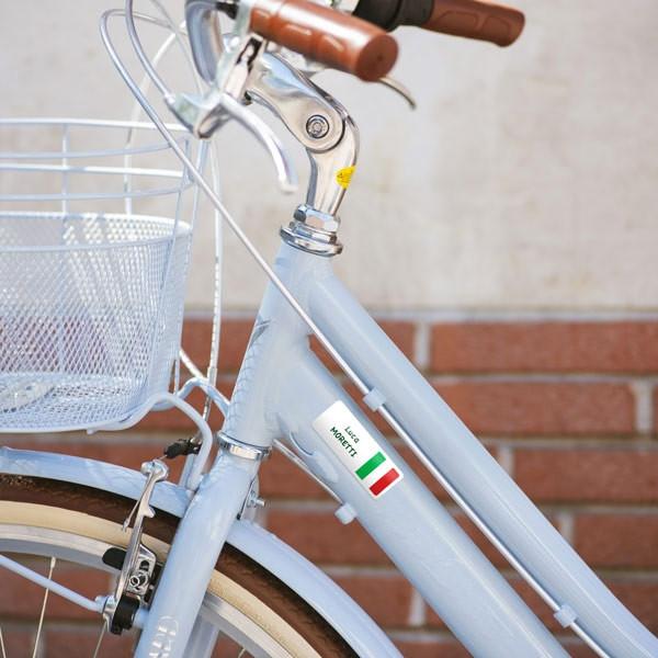 Adesivi rettangolari per bicicletta