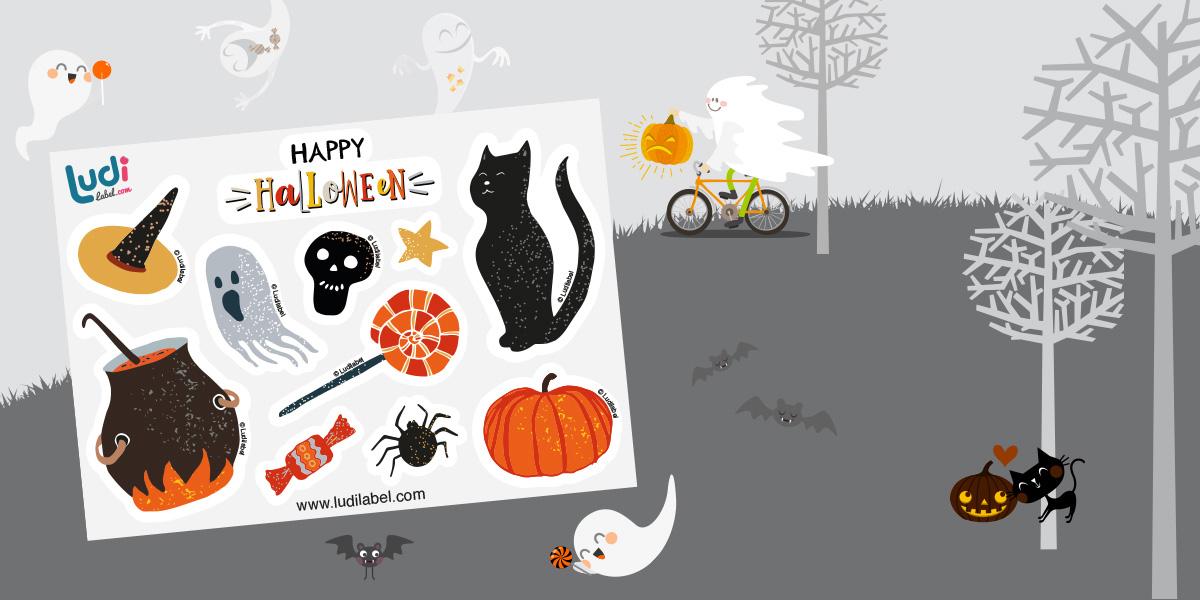 Tremate! Gli adesivi di Halloween sono arrivati !