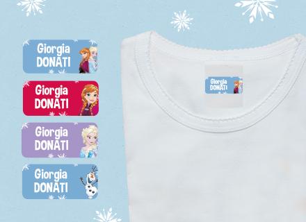 Etichette adesive Frozen
