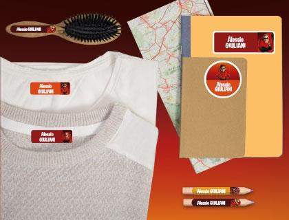 Etichette adesive e termoadesive indispensabili per le gite di gruppo o escursioni con la scuola