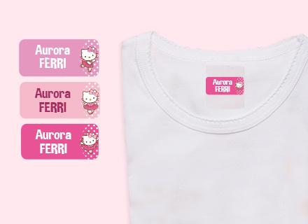 Etichette adesive Hello Kitty