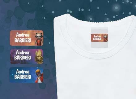 Etichette adesive Guardiani della Galassia