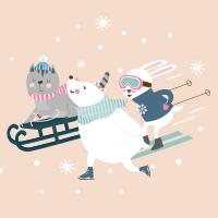 Animali dello sci