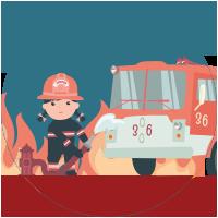Pompiere femmina