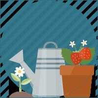 Innaffiatoio di giardinaggio