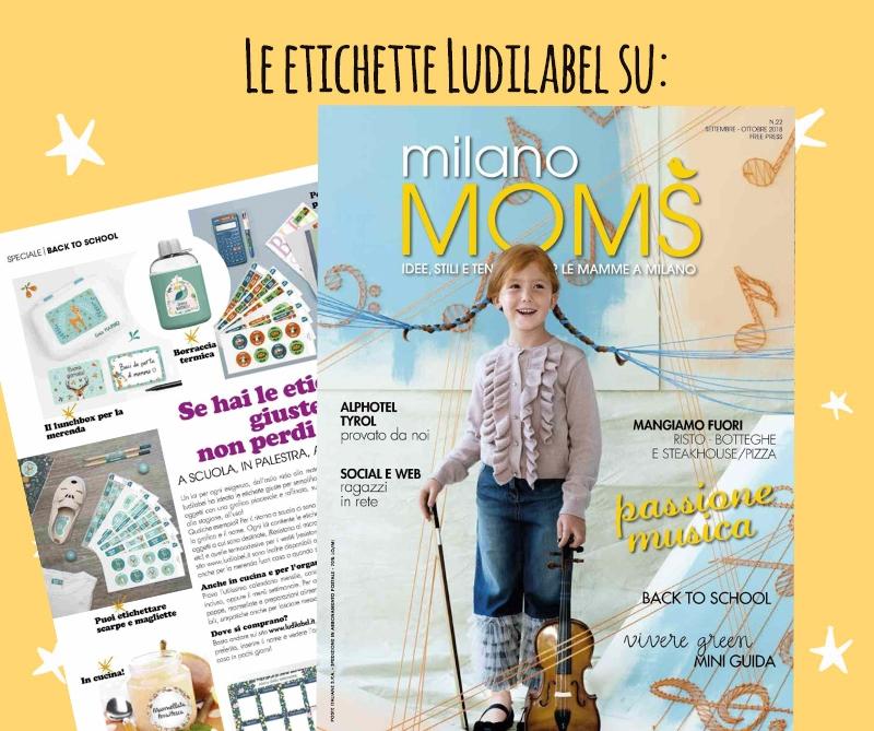 Milano Moms parla di Ludilabel
