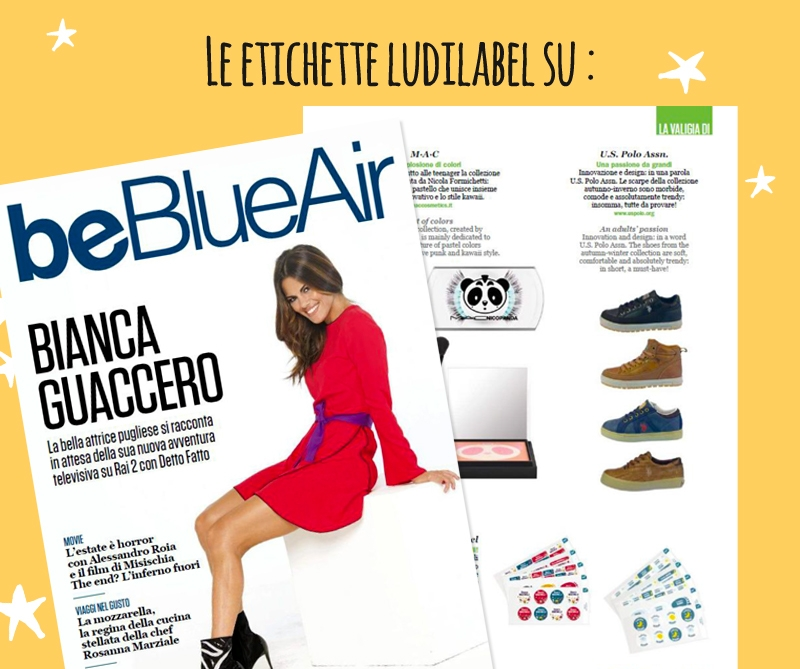 Blue Air parla di Ludilabel