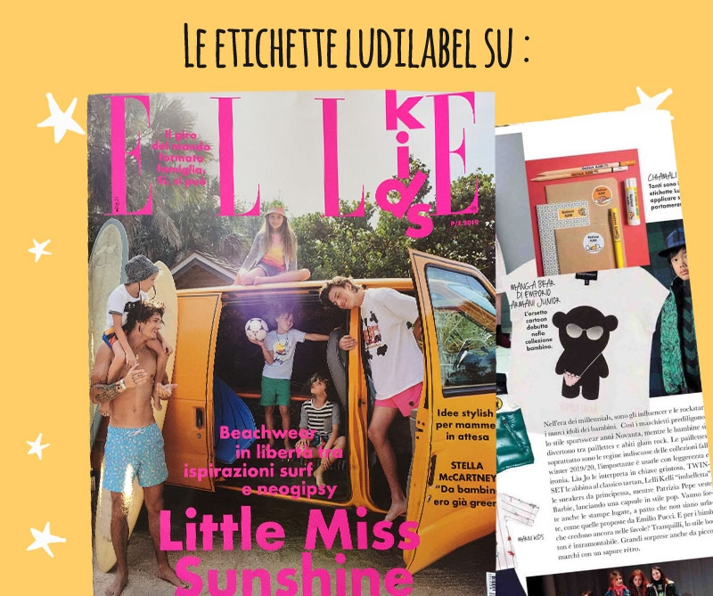 Elle parla di Ludilabel