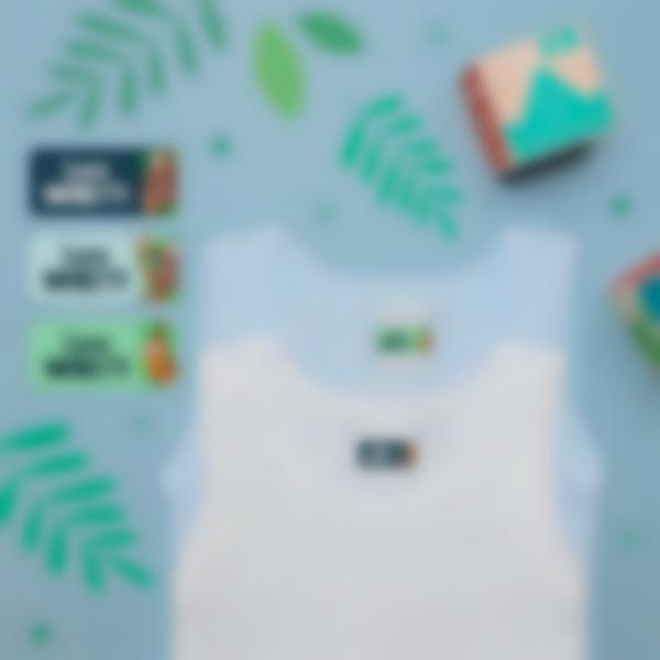 2 pacchetto etichette scuola materna con nome bambini bradipo