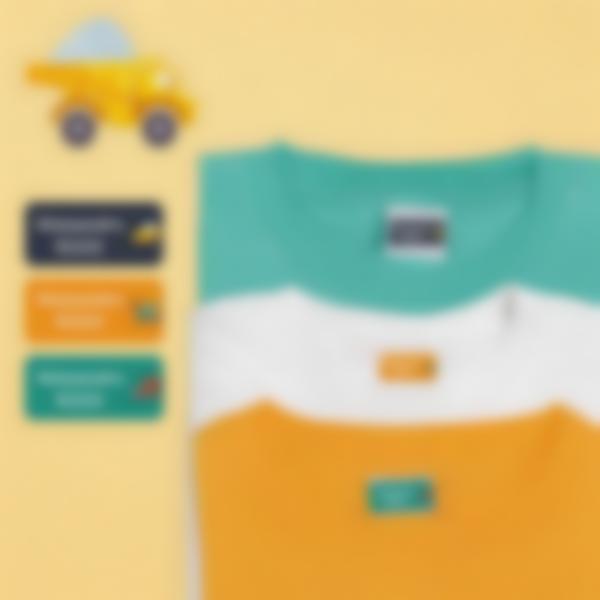 2 pacchetto etichette scuola materna con nome bambini veicoli