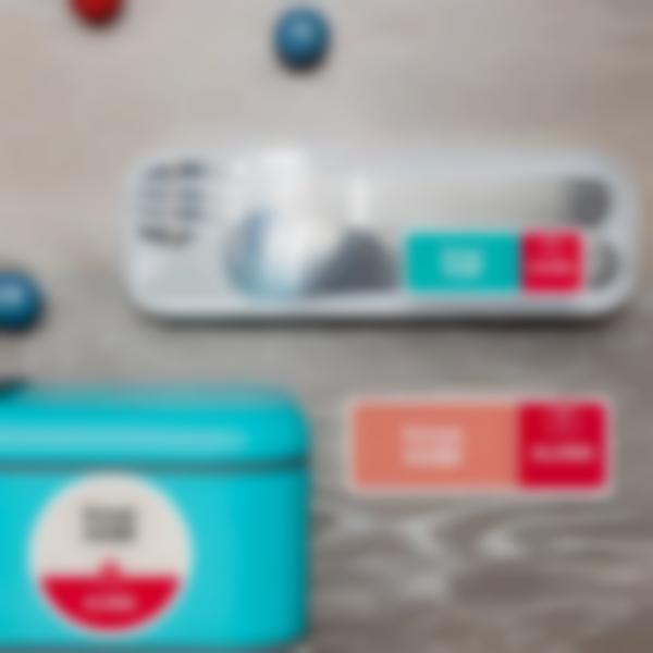 2 pacchetto etichette segnalare allergie asma