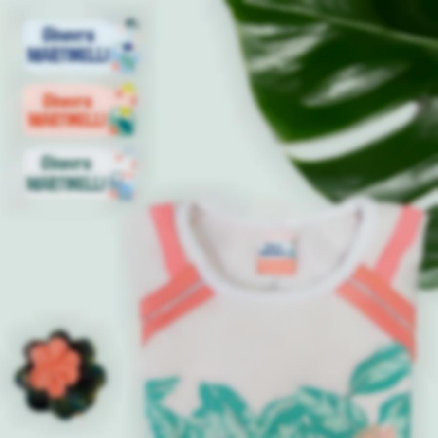 2 pacchetto etichette vestiti tropical