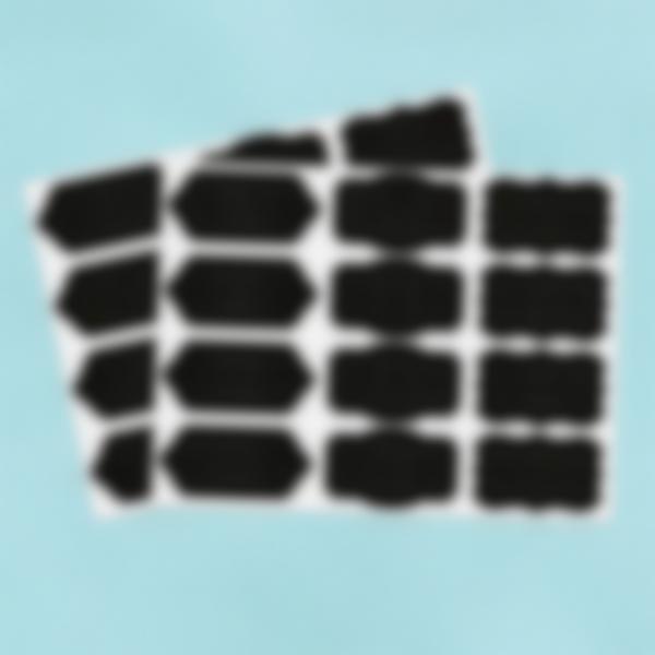 24 etichette adesive lavagnetta barocca