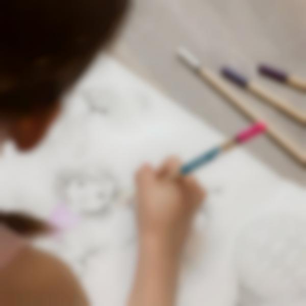3 adesivi etichette mini matite pennarelli