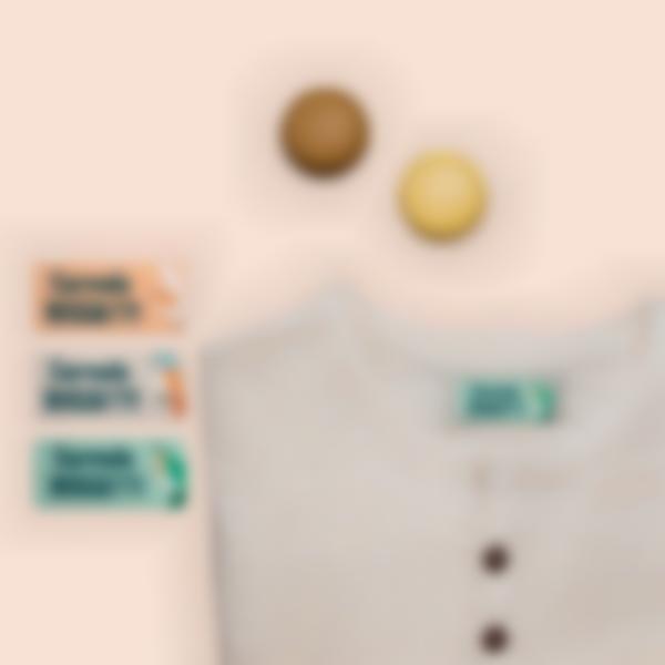 3 pacchetto etichette casa riposo adesivi oggetti