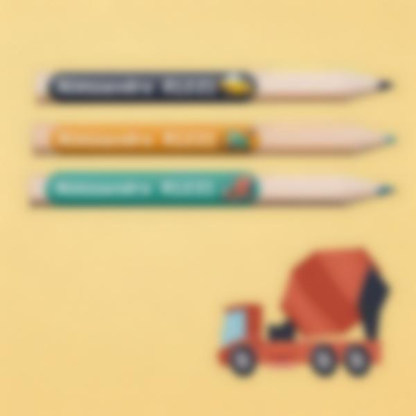 3 pacchetto etichette scuola materna con nome bambini veicoli
