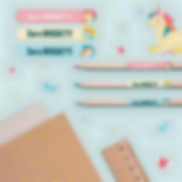 5 pacchetto adesivi etichette materiale scolastico unicorno 21