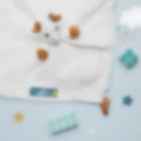 5 pacchetto etichette asilo nido vestiti nuvolette