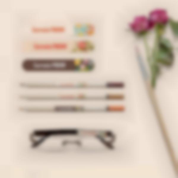5 pacchetto etichette effetti personali occhiali anziani bis