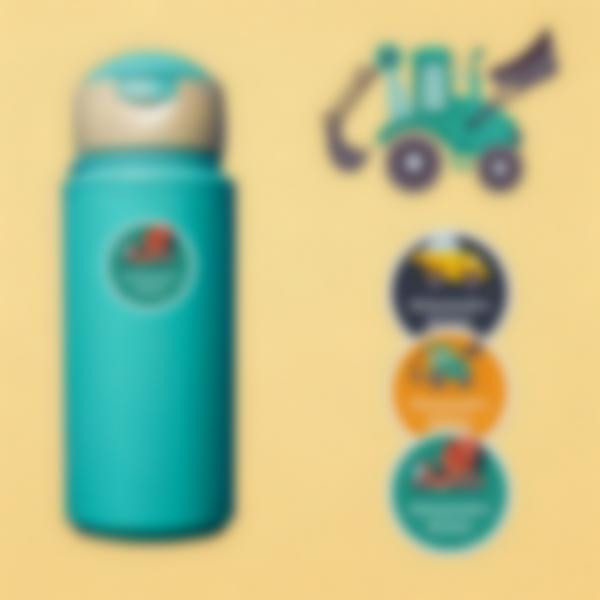 5 pacchetto etichette scuola materna con nome bambini veicoli
