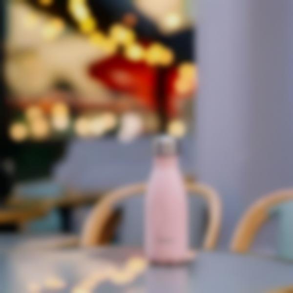 borraccia termica acciaio inox pastel rosa 260ml ambiance 1