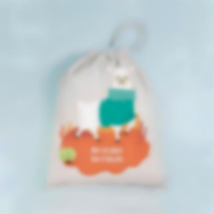 borsa bucato personalizzata alpaca 3