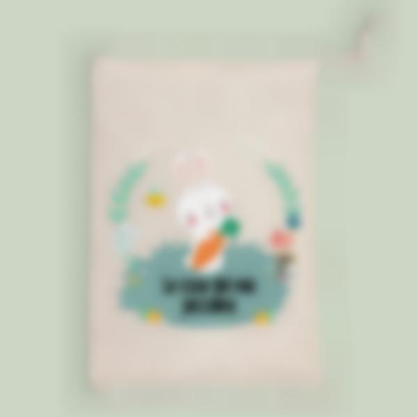 borsa portaoggetti coniglietto