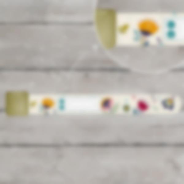 braccialetto identificativo sicurezza bambino floreal