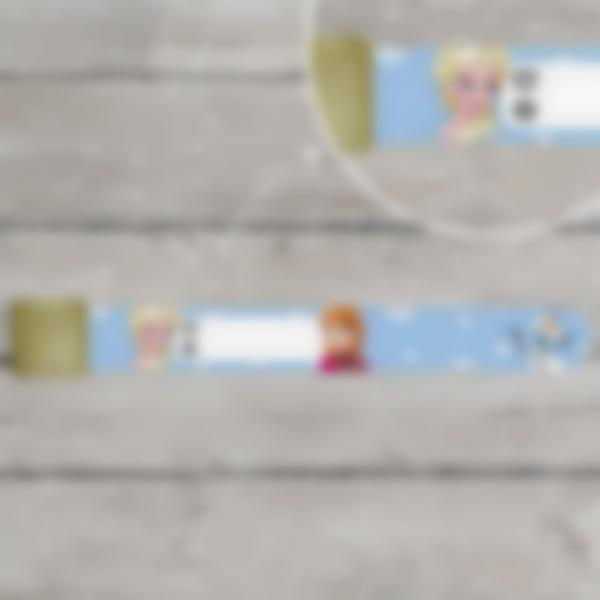 braccialetto identificativo sicurezza bambino frozen disney