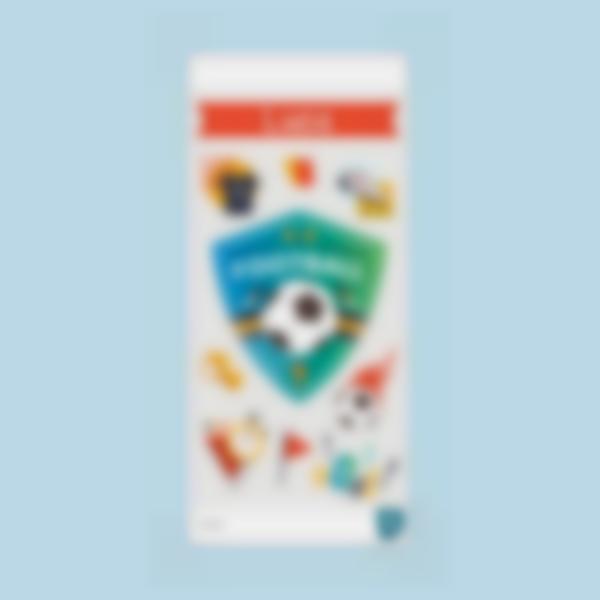 calcio ludilabel stickers borracia 2