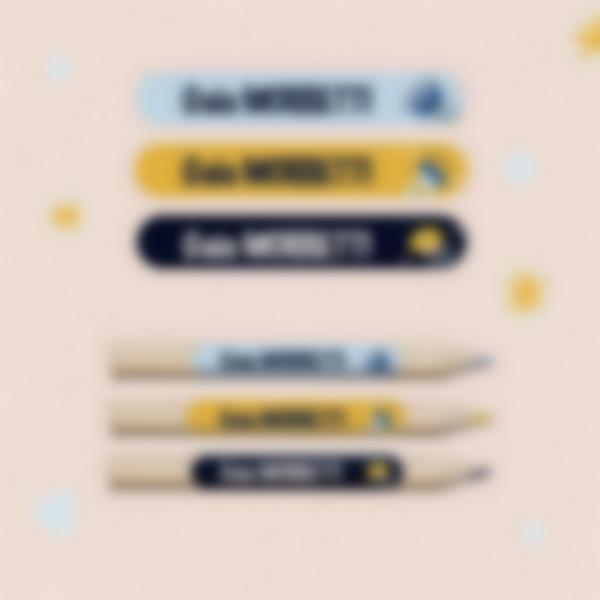 etichette adesive materiale scolastico pennarelli 3