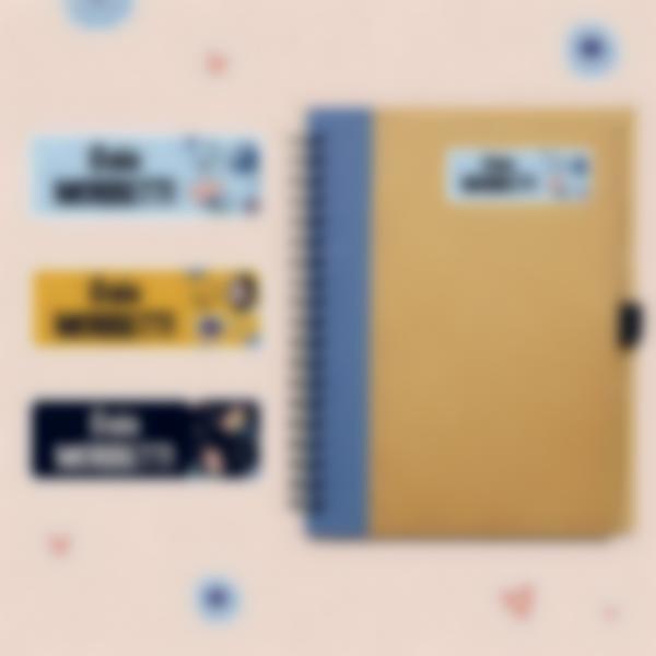 etichette adesive materiale scolastico temperino 4