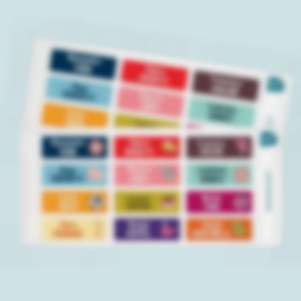 etichette adesivi rettangolari multi texto 2 1