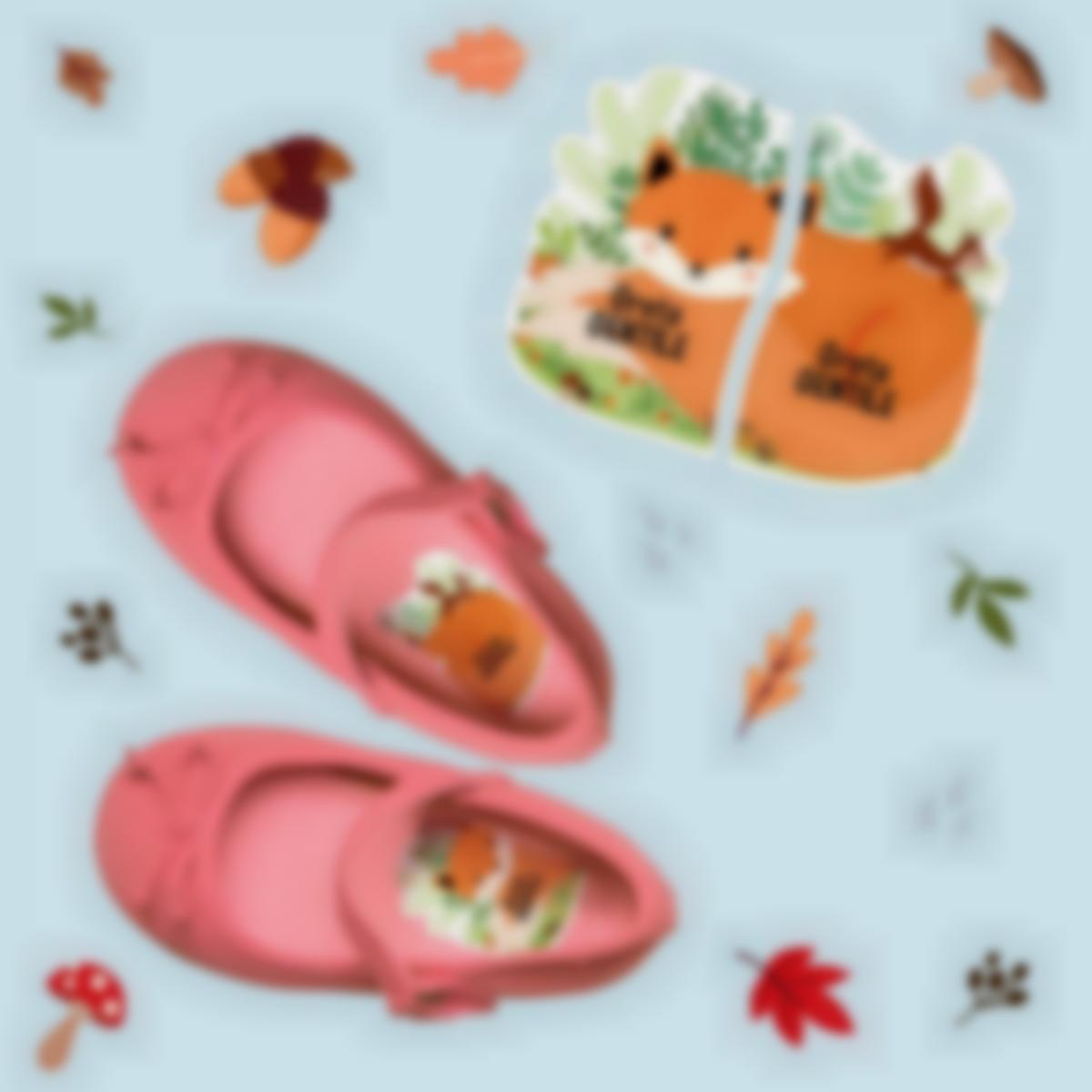etichette intuitive per scarpe volpe 1