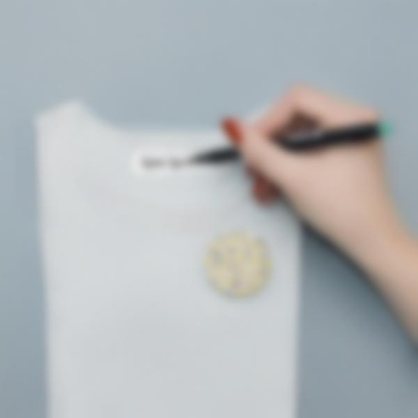 etichette termoadesive vestiti bianche 2