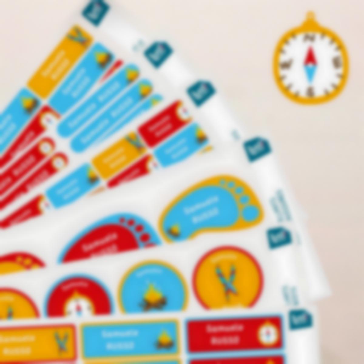 pacchetto etichette nome scout 03
