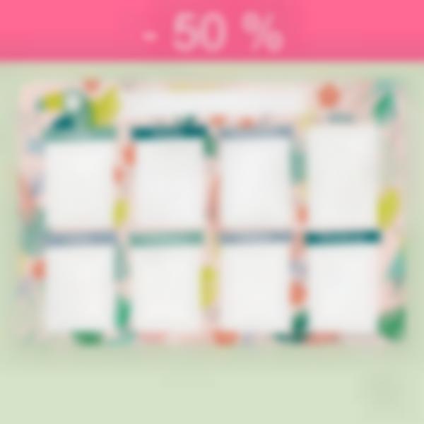 planning menu tropical defauts 50