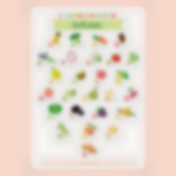 poster educativo personalizzato ludimagic l abbecedario frutta e verdura 02 it 2