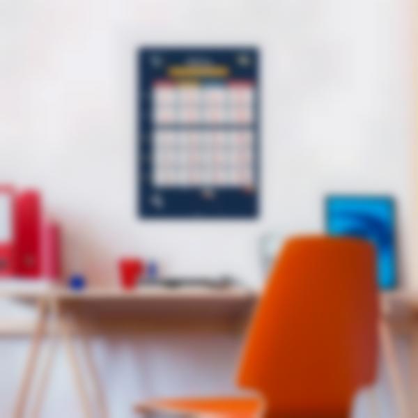 poster educativo personalizzato tabelle delle coniugazioni spacio 2