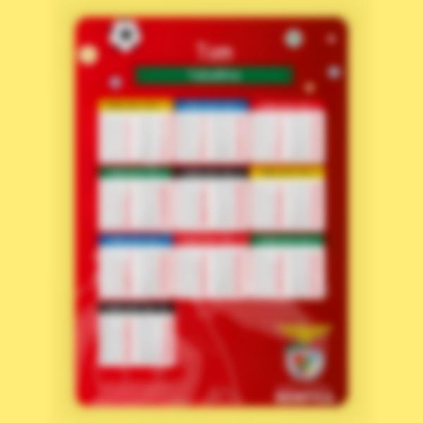 poster educativo tabelle delle moltiplicazioni benfica camer 1