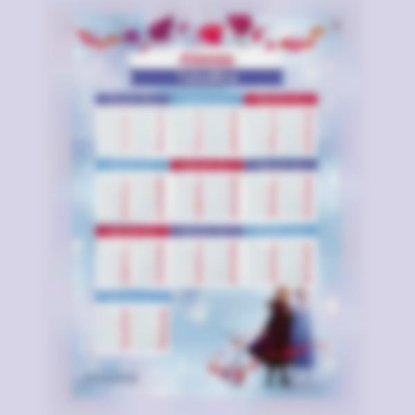 poster educativo tabelle delle moltiplicazioni frozen2 1