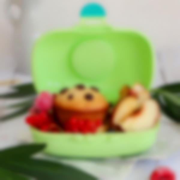 scatola della merenda monbento gram verde apple coniglio