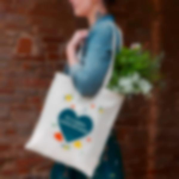 shopper bag cuore 2