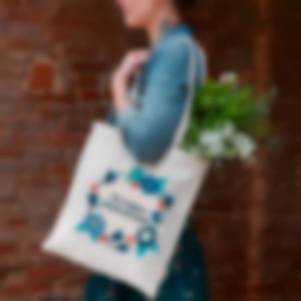 shopper bag fiori 2