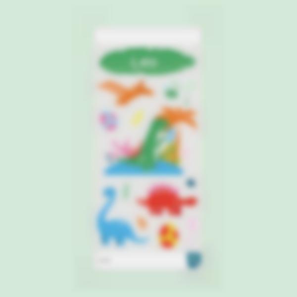 sticker borraccoa dinosauro 0