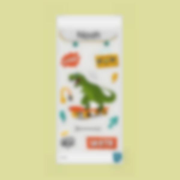 t rex ludilabel adesivi per borraccia 2