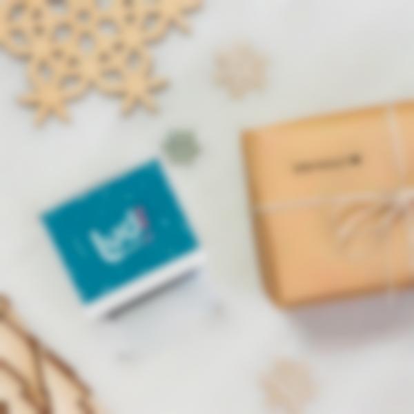 timbro personalizzabile per regali di natale