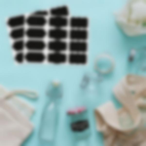 24 piccole etichette adesive di lavagnetta - Barocca